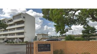 松戸国際高校外観